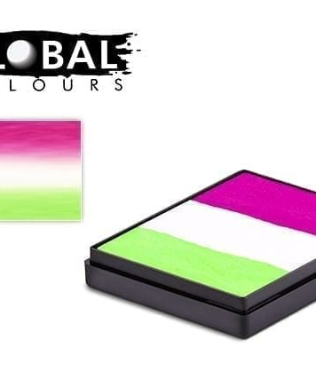 Dubai Rainbow Cake Global Colours 50g Face Paints