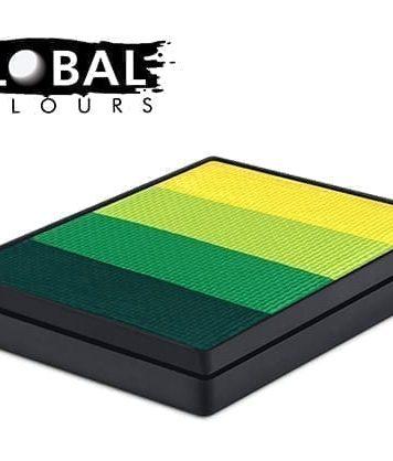 Everglades Rainbow Cake Global Colours 50g Face Paints