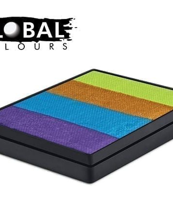 French Quarter Rainbow Cake Global Colours 50g Face Paints