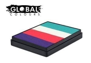Holland Rainbow Cake Global Colours 50g Face Paints