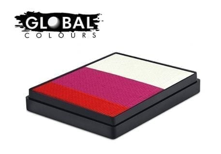 Japan Rainbow Cake Global Colours 50g Face Paints