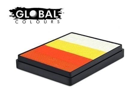Kenya Rainbow Cake Global Colours 50g Face Paints
