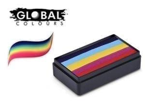 Leanne's Rainbow Funstrokes Global Colours 30g Face Paints