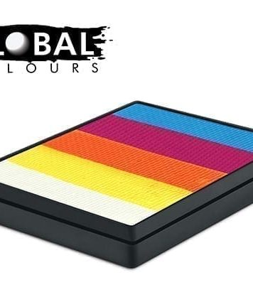 Maui Rainbow Cake Global Colours 50g Face Paints