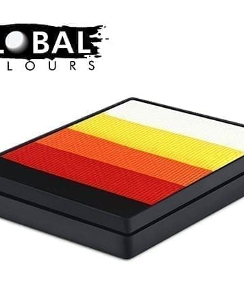Mojave Rainbow Cake Global Colours 50g Face Paints