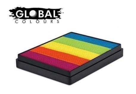 New Delhi Rainbow Cake Global Colours 50g Face Paints