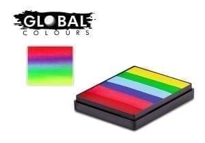 Positano Rainbow Cake Global Colours 50g Face Paints