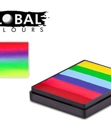 Positano Rainbow Cake Global Colours 50g Face Paints