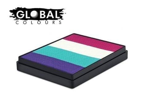 Provence Rainbow Cake Global Colours 50g Face Paints