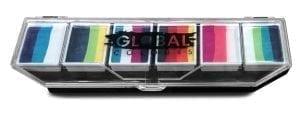 Rainbow Burst Fun Stroke Global Colours Palette