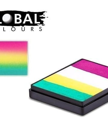 San Francisco Rainbow Cake Global Colours 50g Face Paints