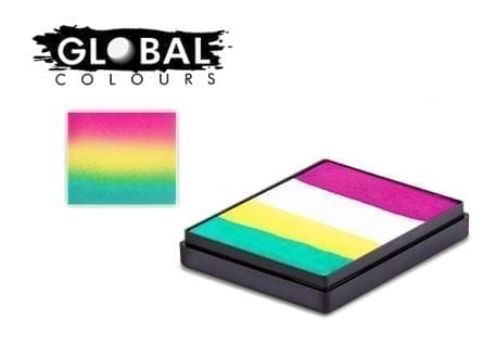 San Francisco Rainbow Cake Global Colours 50g Face Paints