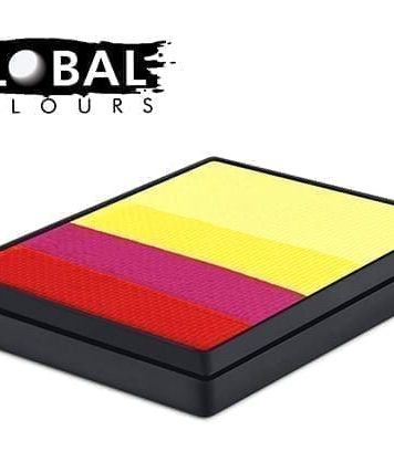 Spain Rainbow Cake Global Colours 50g Face Paints