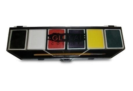 Standard Global Colours Palette & No. 4 Round Brush