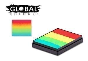 Vegas Rainbow Cake Global Colours 50g Face Paints