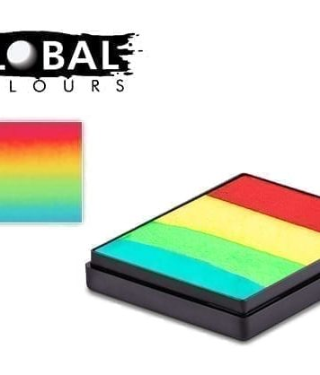 Vegas Rainbow Cake Global Colours 50g Face Paints