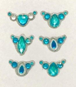 frozen bling clusters gem clusters