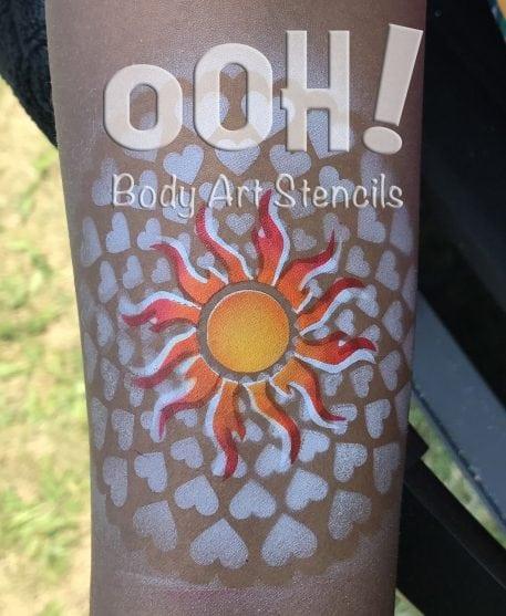 hearts stencils australia