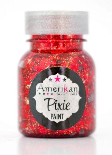 pixie paint australia red Little Red Corvette glitter gell