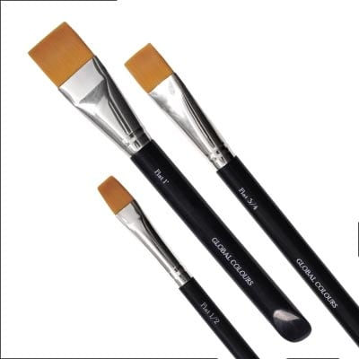 One Stroke Flat Brushes