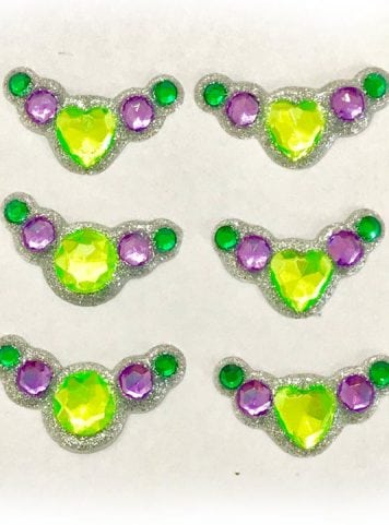 green purple bling clusters gem clusters australia