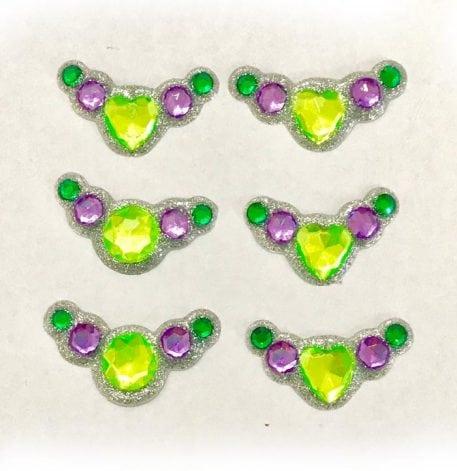 green purple bling clusters gem clusters australia