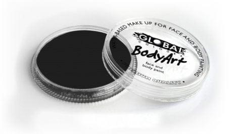 Black Global Colours 32g Face Paints australia