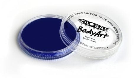 Dark Blue Global Colours 32g Face Paints australia