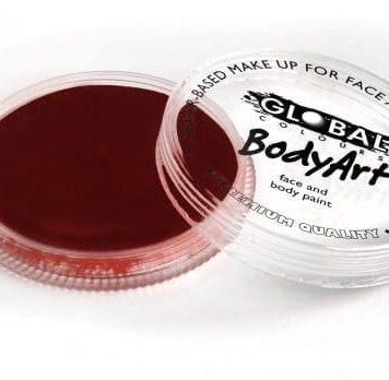 Deep Merlot Global Colours 32g Face Paints australia