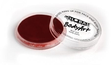 Deep Merlot Global Colours 32g Face Paints australia