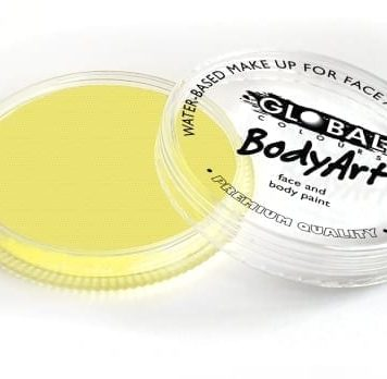 Light Yellow Global Colours 32g Face Paints australia