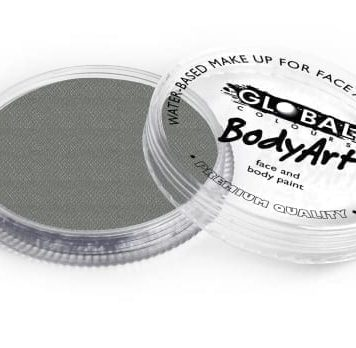 Metallic Silver Global Colours 32g Face Paints Australia