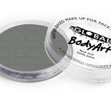 Metallic Silver Global Colours 32g Face Paints Australia