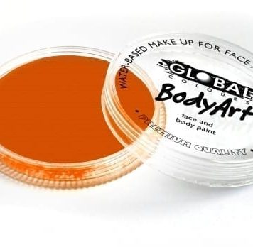 Neon Orange Global Colours 32g Face Paints Australia