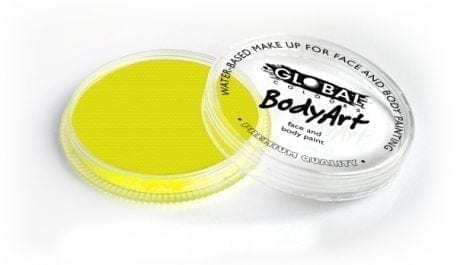 Neon Yellow Global Colours 32g Face Paint
