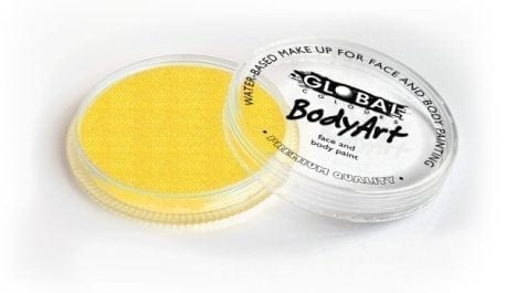 PEarl yellow Global Colours 32g Face Paints australia