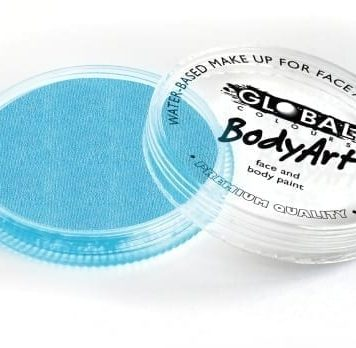Pearl Baby Blue Global Colours 32g Face Paints Australia