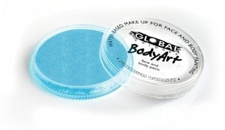 Pearl Baby Blue Global Colours 32g Face Paints Australia