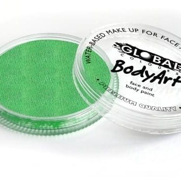 Pearl Lime Green Global Colours 32g Face Paints