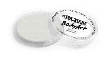 Pearl White Global Colours 32g Face Paints