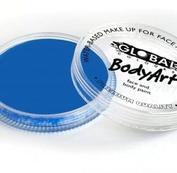 Ultra Blue Global Colours 32g Face Paints